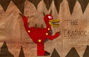 Beware the Draguck by Luke-the-F0x