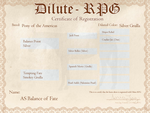 D-RPG Registration Certificate Example by AniaJag
