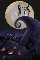 nightmare before christmas by FranticSaint