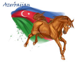 Horse Hetalia:  Azerbaijan by Moon-illusion