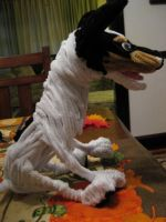 Pipecleaner Rat Terrier by DarkSaberCat