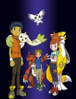 Tamers and Digimon 2 by Ulfin