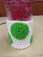 Yoshi Egg cup coozie by kittylvr8577