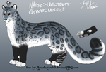 Unknown Male Snow Leopard Character by SenkaBekic