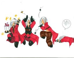 Devil May Cry Flute Dance by Blackarmoredsage