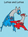 latios and latias by latios-and-latias