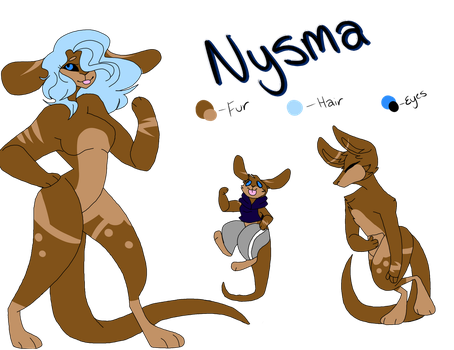 Nysma ref by Illiterate-Swine