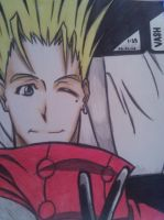 Vash The Stampede by AnimeMaster00