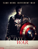 Marvel's CIVIL WAR - POSTER 3 by MrSteiners