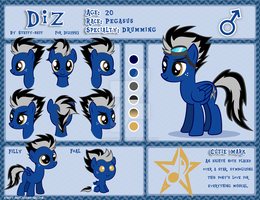 Diz Reference Sheet by steffy-beff