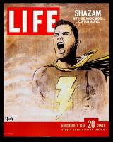 Life Magazine 1948: Captain Marvel by RobertHack