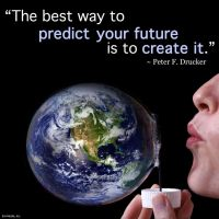 Quote - Create Future by rabidbribri