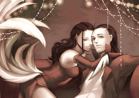 Loki and Lady Loki by MuBai07
