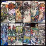 Custom tattoo designs by Xenija88
