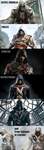 All main Assassins differences by TexPool