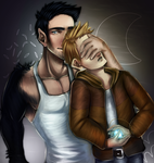 Dexter and Jake ~See no evil~ by MysticSteph