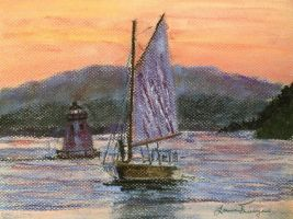Carried Home (Lake Champlain VT) - SOLD by ltuininga