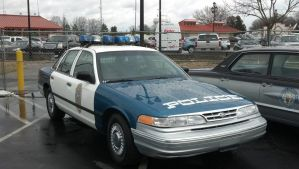 90's Raleigh Police Crown Vic by benracer