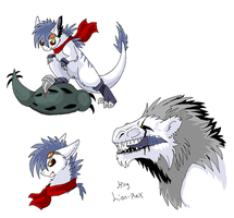 Dino Doodles by Ash-Dragon-wolf