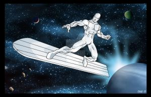 The Silver Surfer by Chadfuller