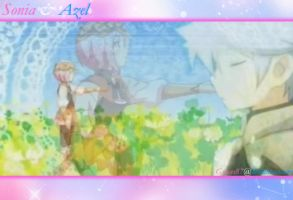 Sonia and Azel Wallpaper by Graces87