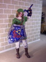 Twilight Princess Link costume by LilleahWest