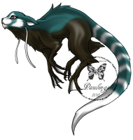 brambleclaw33: Teal by Pawlings