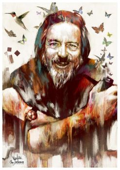Alan Watts Tribute #3 by mickehill
