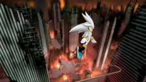 Silver in Crisis city  by Blue-Rebelle