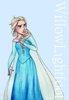 Elsa by WillowLightfoot