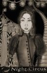 The Night Circus: Celia the Ghost by candentesomnium