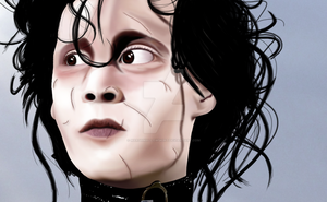 Edward Scissorhands by MarshmallowSkirt