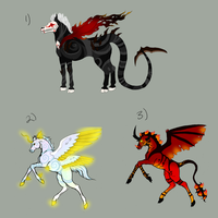 Horse Adoptables SOLD by KamiraWolfDemon