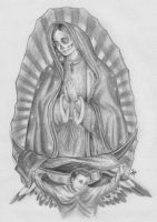 Her Lady of Guadalupe Death by NateTheKnife