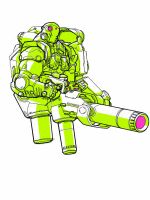 dude with gun ipad sketch by Neil-Googe
