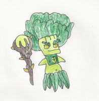 Yuck head Broccoli Guy by trexking45