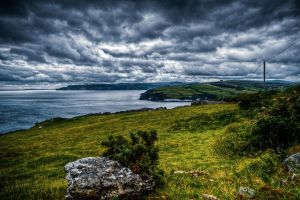 Antrim Coast, N-Ireland V by Tiemen-S