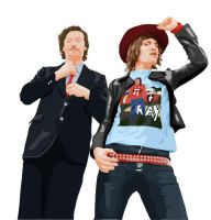 The Mighty Boosh Vector by Sketch1991
