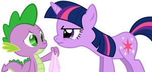 You know what to do, Spike! by MuffinName