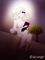 Janet the Poodle: In the Room by Hvan
