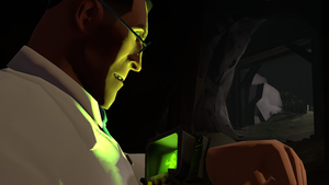 Medic and his pip-boy by FranckyFox2468