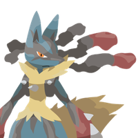 Mega Lucario Vector by One-Mister-Badguy