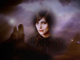 Wallpaper Alice Cullen by amidsummernights