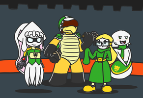 Bowser's Sharded Minions by PainfulElegy