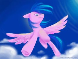 Firefly the Pegasus by northernlightsmlp