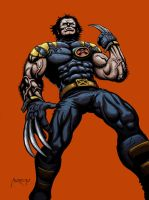 Ultimate Wolverine by andresmoreno