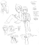 PW: Larry and Franzie doodles by androidgirl