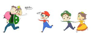 SuperMario Crossover! by Wibsies