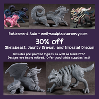 Retirement Sale - 30% Off Select Figures by emilySculpts
