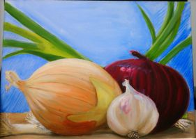 Onion Painting by Fire-Redhead
